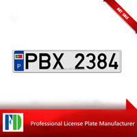 motorcycle paper license plates