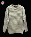 2015 la tela de moda suéter de los hombres de largo- manga de cuello alto de ropa para hombre ropa