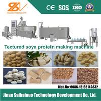 Textured soya chunks making machine