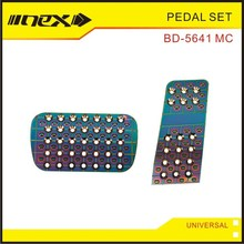 Anodized Car Interior Aluminum Auto Speed Pedal Set Kit item