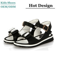 2015 kids new fashion sandals girls knitted fancy sandals oem baby sandals