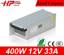 Constant current led power supplies waterproof ip67 led driver constant voltage output 400w 12v power supply transformers