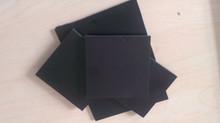 Black Rigid PVC Sheet With Glue For Photo Album Menu Book