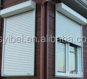Fire-proofing Security Rolling up roller shutter rain protection for windows