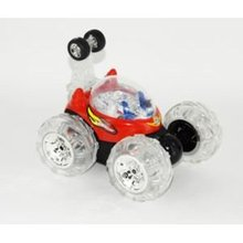 "10"" Mini RC Invincible Tornado Toy Stunt Car RED"