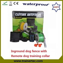 DF-113R invisible In-ground dog fence with trainer systems up to 1000 meters with good feedback