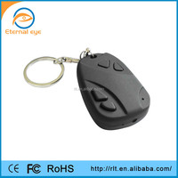 CMOS hd hidden video recorder 808 car keys micro camera support plus and play Built-in rechargable battery