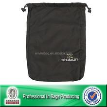 Custom Cheap Polyester Waterproof Recycle Promotional Drawstring Mini Money Bag, Laundry Bag, Backpack Bag