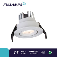 1W 3W adjustable under cupboard lighting with brand chip and driver, high CRI and power factor