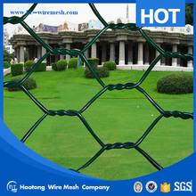 High quality galvanized hexagonal wire mesh , pvc coated hexagonal wire mesh