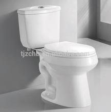 Cupc aprobado 4.8L wate ahorro de fácil instalación inodoro sifónico piezas higiénico