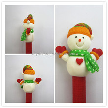 2015 Hot Selling fimo Flexible Ball Pen Cute Soft fimo fashion stytle Ballpoint Pens School&Office Supplies