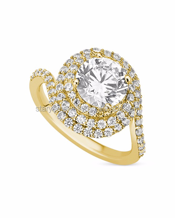 1 Carat 14k Yellow Gold Diamond Ring Wholesale Factory Price Buy 14k Gold J