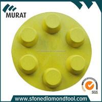 "3""80mm Velcro Backing Dots Concrete Diamond Resin Polishing Pad&Grinding Disc"