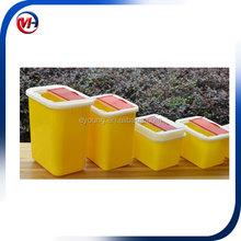 15L medical waste bin /hospital pallet /pedal dust bin 15L