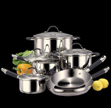 10pcs stainless steel silicone cookware