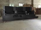 Eco simples cadeira pedicure mais durável madeira preto triple cadeira pedicure