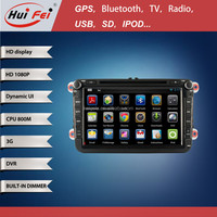 HuiFei Android 4.4.2 Car DVD Player For Volkswagen Passat Car GPS Navigation With Built-in Wifi