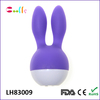 2015 hot sale sex product mini rabbit ears rechargeable vibrator sex toy for G-spot
