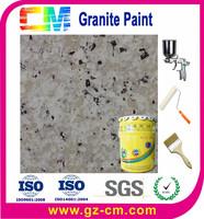 Building wall brick texture imitation granite painting