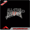 Bling BLing All Star Hot Fix Motif Rhinestone Templates Baseball Rhinestones Import