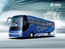 JK6128HD HOWO 11m 44seats luxury bus sofa coach