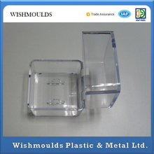 PP PC Small Clear Plastic Container Polycarbonate Injection Molding S136 Hardened 48 ~ 50HRC