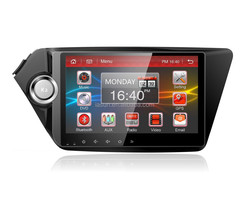 Android 4.4 car navigation system with Mirror link for KIA K2