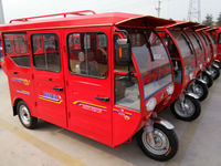 4.50-12 tire three wheeler passenger tricycle for adults
