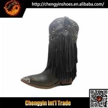 2015 design de la marque de luxe pas cher bottes de cowboy