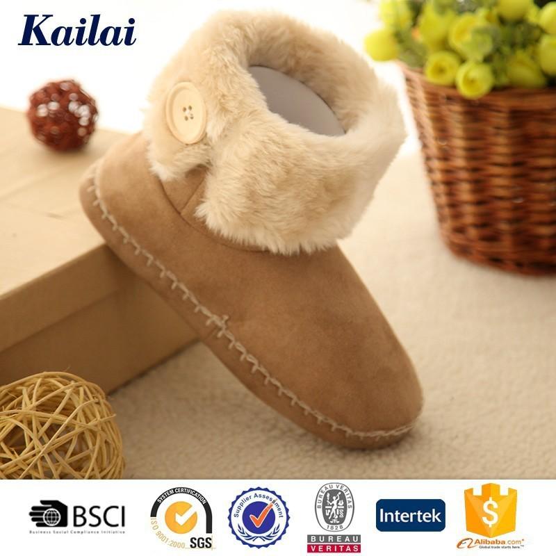 Clássico de inverno frizzed pelúcia comprar botas de segurança