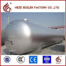 Tanque de gas del LPG GB estándar tipo horizontal