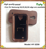New Products For Samsung Galaxy S4 Mobile Phone Case Wood Cover phone Cases with walnut wood skin