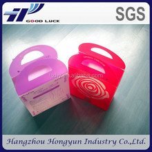 eco-friendly printed small palstic box wholesale/ new design plastic box with customized logo
