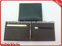 Man's Fashion Design Classic Metal Clip design Man's wallets