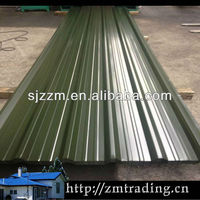 galvanized roof sheet roof tile Curved Coloured Corrugated Steel Sheet