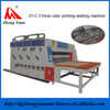 High speed custom corrugated board box rotary die cutting machine