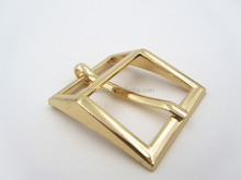 High Polished Gold Metal Women Shoe Accessories Shoe Pin Buckles