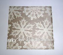 2012 new year pretty snow pinted nice tissue paper