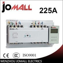 automatic transfer switch ats with English controller for generator 225A 4 pole 220V