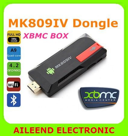 MK809IV Quad Core RK3188 TV Box,Android 4.4.2 kitkat 2GB 8GB Bluetooth Android TV Stick