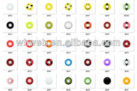 Good quality halloween crazy contact lens for wholesale selling