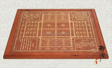 War & Marin Wooden Game Board with Molded Edge - Double Side