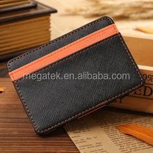 2015 Fashion express wallets magic wallet with elastic straps flip magic wallet