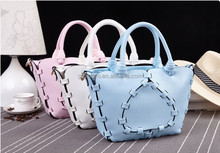 Korean style fashion PU pattern bags