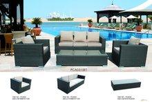 Wicker Modular Patio Sofa Suite