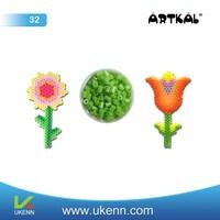 ARTKAL fuse beads M32 3mm 55 colors abt 6, 5000 beads/1kg/bag/color educational handwork toy kids anime craft