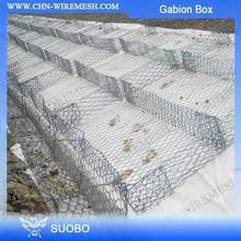 Hot Diped Galvanized Gabion Stone Mattresses Gabion Stone Wall Gabion Structure