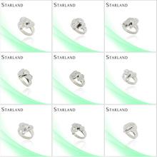 starland mens anelli di corallo nero fine e nobile vendita calda anello di gioielli in argento