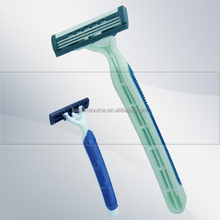 stainless razor blade triple blade disposable for lady exporter